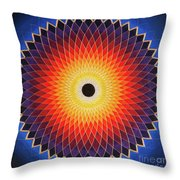Aussie Sun Throw Pillow