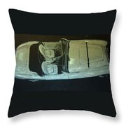 Austin Healy Lm Throw Pillow