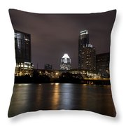 Austin Texas Throw Pillow