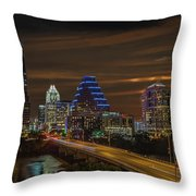 Austin, Texas Throw Pillow