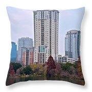 Austin Tower Throw Pillow