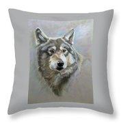 Austin's Wolf Throw Pillow