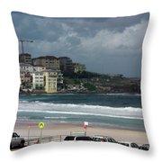 Australia - North Bondi Beach Throw Pillow