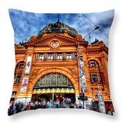 Australia Melbourne Part8 Throw Pillow