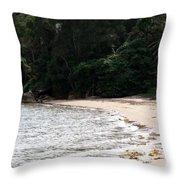 Australia - Hideout On Palm Beach Throw Pillow