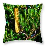 Australian Banksia Throw Pillow