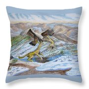 Australian Challenge Throw Pillow