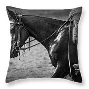Australian Cowboy Throw Pillow