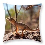 Australian Dragon Throw Pillow