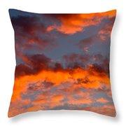 Australian Sunset Throw Pillow