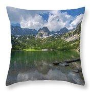 Austria Seebensee Throw Pillow