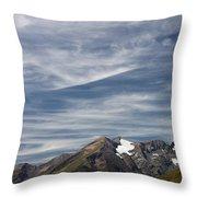 Austrian Sky Throw Pillow