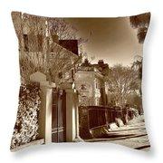 Authentic Charleston Throw Pillow