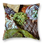 Authentic Throw Pillow