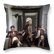 Author & Bookseller, 1811 Throw Pillow