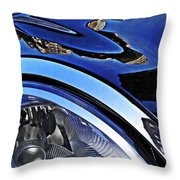 Auto Headlight 27 Throw Pillow