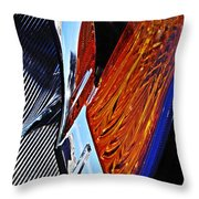 Auto Headlight 31 Throw Pillow