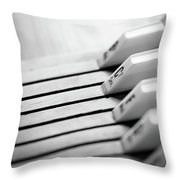 Autoharp - C7 Sev. Throw Pillow
