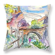 Autol In La Rioja Spain 02 Throw Pillow