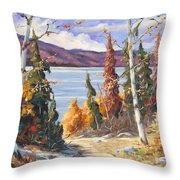 Automn Colors Throw Pillow