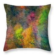 Autum Hillside Throw Pillow