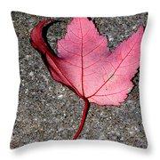 Autum Maple Leaf 2 Throw Pillow