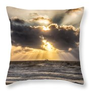 Autum Storm 001 Throw Pillow