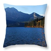 Autumn Afternoon On Pyramid Lake Throw Pillow