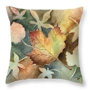Autumn Again Throw Pillow
