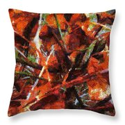 Autumn Allegretto Throw Pillow