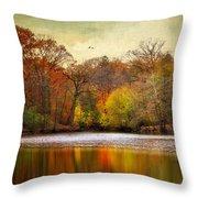 Autumn Arises 2 Throw Pillow