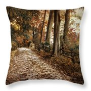 Autumn Ascending  Throw Pillow