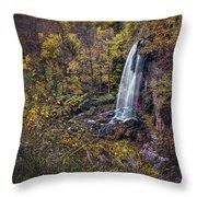 Autumn At Falling Spring Throw Pillow
