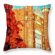 Autumn At Nwmsu Throw Pillow