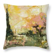 Autumn Blast Throw Pillow