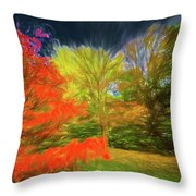 Autumn H3 Throw Pillow