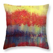 Autumn Bleed Throw Pillow