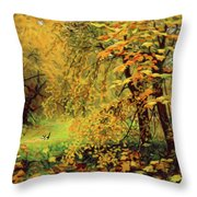 Autumn Bliss Of Color Throw Pillow