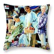 Autumn Bounty Throw Pillow