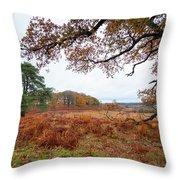 Autumn Brunch Throw Pillow