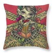 Autumn Butterflies Throw Pillow