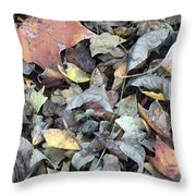 Autumn Carpet Throw Pillow