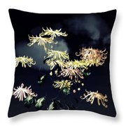 Autumn Chrysanthemums 7 Throw Pillow