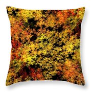 Autumn Colors Throw Pillow by Yali Shi