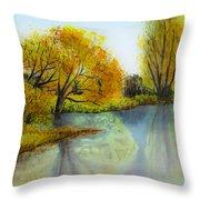 Autumn Colours Throw Pillow