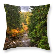Autumn Creations Throw Pillow