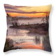Autumn Dawning Throw Pillow
