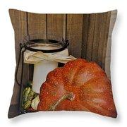 Autumn Decor 2 Throw Pillow