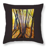 Autumn Design Throw Pillow