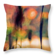 Autumn Dreams Abstract Throw Pillow